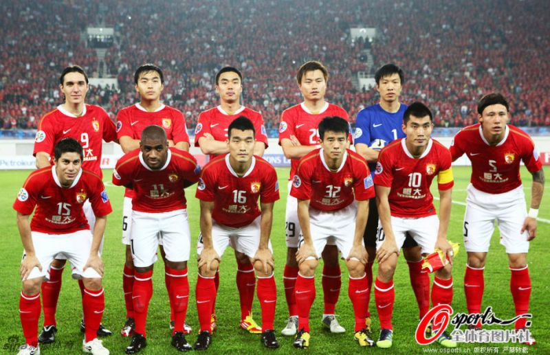 Guangzhou Evergrande-CHINA